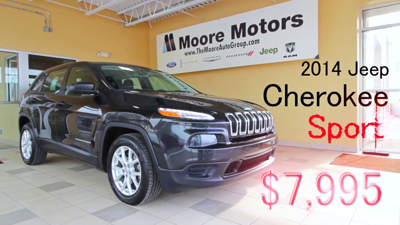 2014 Jeep Cherokee Sport Fwd Suv For Sale In Caro Youtube