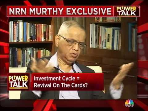 Power Talk with NR Narayana Murthy - Part 1