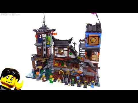 LEGO Ninjago City Docks review 70657