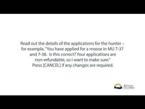 How To Submit A Limited Entry Hunting Application On Behalf Of A Hunter
