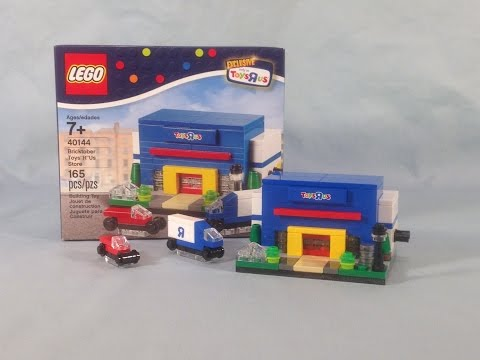 LEGO BRICKTOBER 2015 Set 40144 Bricktober Toys 'R' Us Store Review