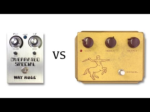 Way Huge Overrated Special vs Klon Centaur