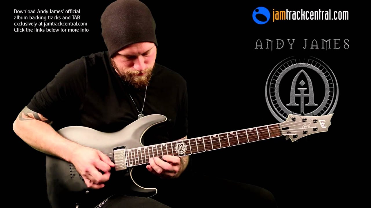 Andy James - 'War March' at Jamtrackcentral.com - YouTube