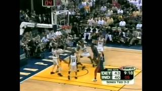 richard hamilton 33 points vs pacers full highlights 2004 ecf gm5 2004 05 30