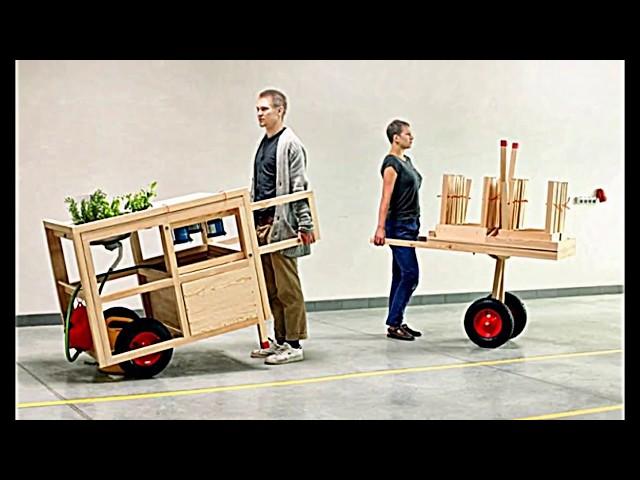 Mobile Küche Von Chmara.Rosinke Bringt Einen Neuen Wohnstil Mit Sich