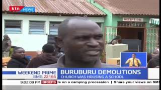 Buruburu Demolition: Chaos erupt at a church in Buruburu, Govn Sonko intervened to stop demolition