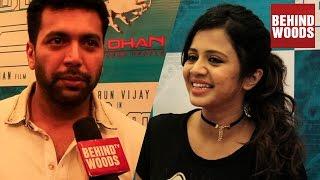 Kuttram 23 Celebrity Premiere   Arun Vijay, Jayam Ravi, Anjana   TN10