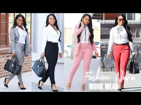 Work Wear Try On Haul | Affordable & Stylish For The Office Boss Lady Fashion Nova