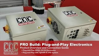 PRO CNC Build Series: Plug-and-Play CNC Electronics and Spindle for your CNC Router Parts Machine