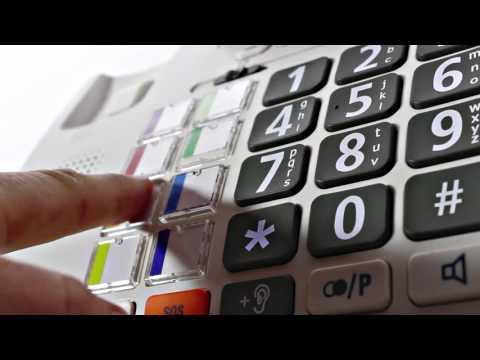 Großtasten-Telefon Humantechnik Scalla 3 Combo