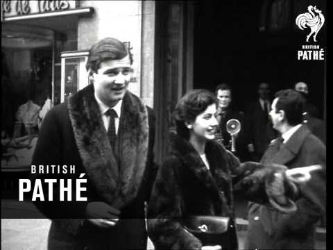 Goldsmith-Patino Young Couple In Paris (1954)