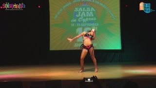 VERONICA LOPEZ SOLO DANCE PERFORMANCE | 10.SALSA JAM IN CYPRUS!