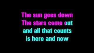 The wanted-Glad You Came Karaoke