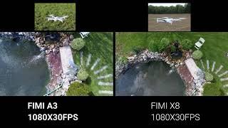 FIMI X8 SE VS FIMI A3 MINI TEST DIFFERENCE CAMERA 1080X30FPS