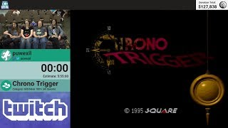 Chrono Trigger (Glitchless 100%) by puwexil (RPG Limit Break 2018 Part 47)