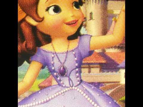 Disney princess and Sofia and Barbie photos