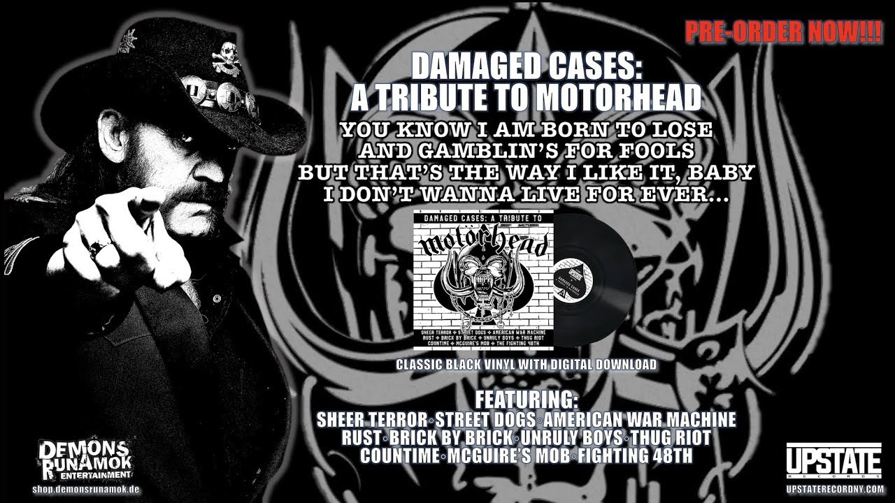 Album Review: Damaged Cases - A Tribute to Motörhead