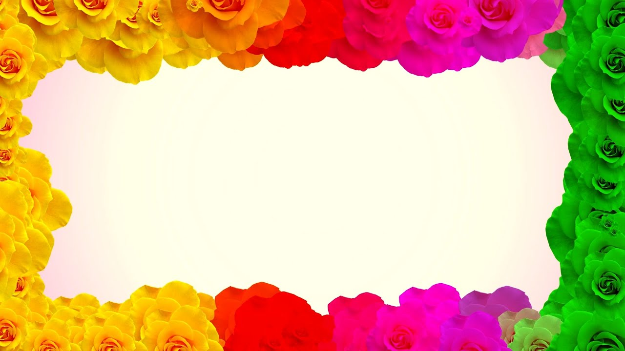 frame flowers video background hd fondo de video hd