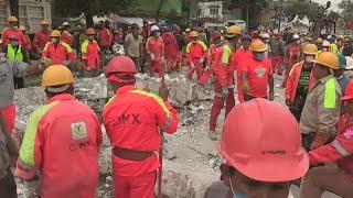 Rescatistas españoles inician con esperanza su labor en México tras el terremoto