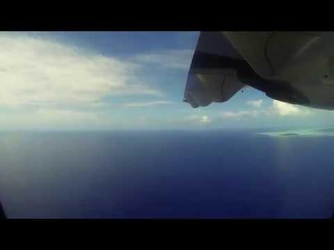 Flight into Bora Bora - 2014 HD