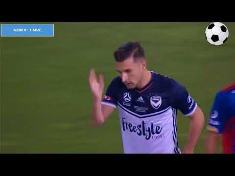 Newcastle Jets vs Melbourne Victory  0:1 - All Goals and Highlights - 05/05/2018 - HD