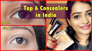 Top 6 Concealers in India - Affordable & Costly Both- BestWay to Cover Dark Circles with Concealer