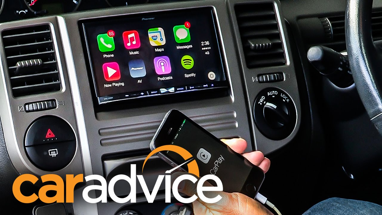 Lastest Apple CarPlay By Pioneer Review  First Test  YouTube