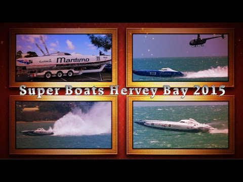Offshore Super Boats Hervey Bay 2015 Race 2