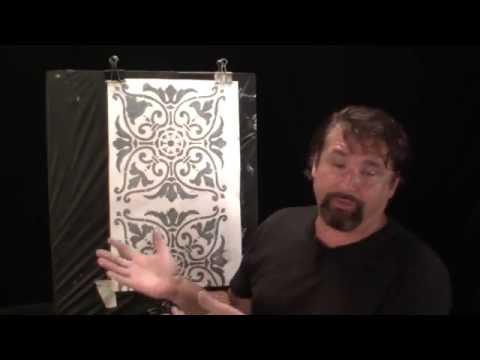 Faux painting. Techniques for walls, metallic lime venetian plaster