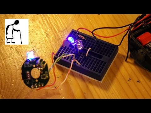 HALL effect sensor project #1 with thanks to Thomas Kim
