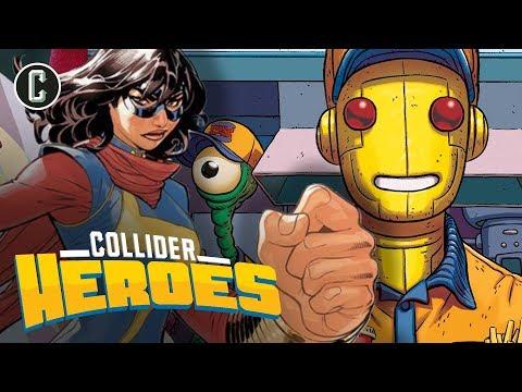 Ms. Marvel in the MCU; Doom Patrol Series In The Works - Heroes