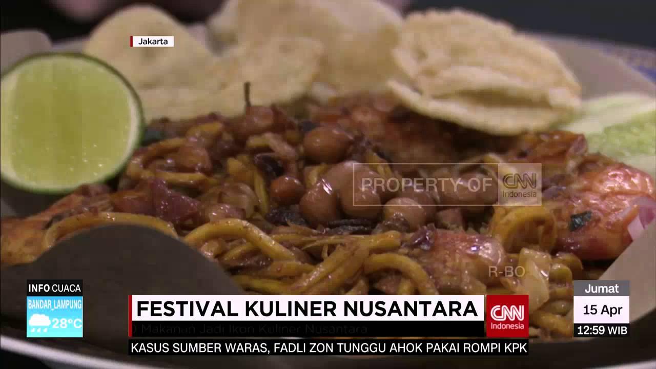 Pecinta Kuliner Ini Festival Kuliner Nusantara