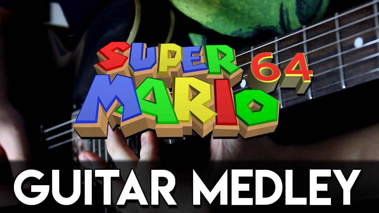 Super Mario 64 Guitar Medley   DSC