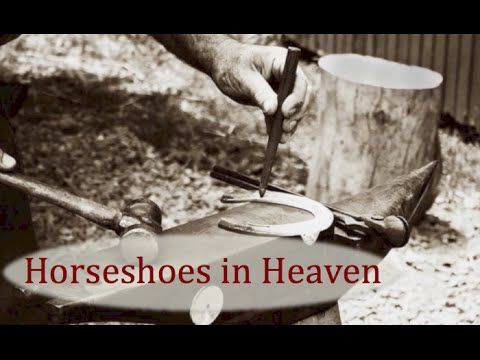 Cowboy Poetry: Horseshoes in Heaven