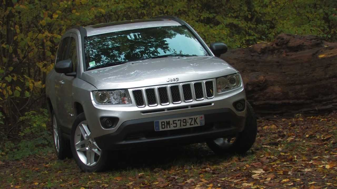 essai jeep compass 2011 youtube