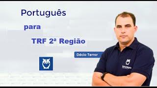 O professor Décio Terror participa da maratona para TRF 2ªR. Ele mi...
