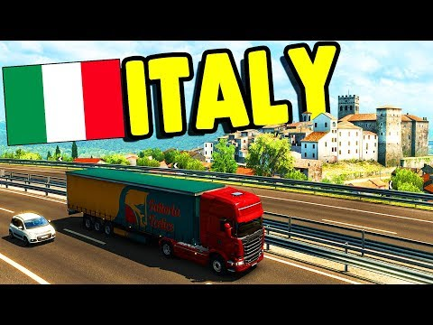 FIRST LOOK: ITALY DLC Release & NEW Truck | Euro Truck Simulator 2 Gameplay