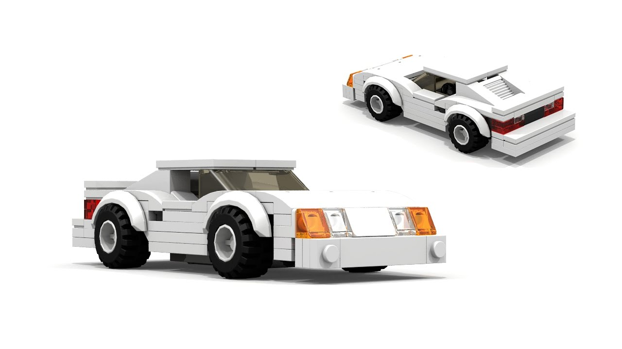 Lego fox body ford mustang building instructions