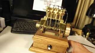 Miniature 4 Cylinder Solenoid Engine Build Expose By Art Rafael