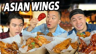 They Serve the BEST CHICKEN WINGS Ever - 21 FLAVORS!