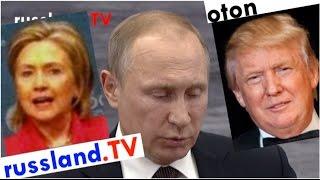 Putin auf deutsch: Clinton oder Trump?