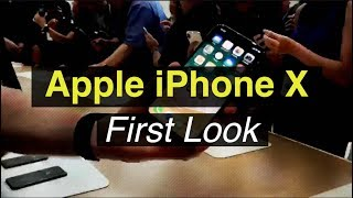 Apple iPhone X First Look: The Future iPhone Is Here