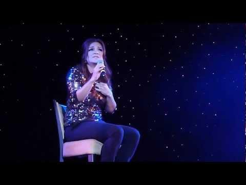Shoshana Bean sings