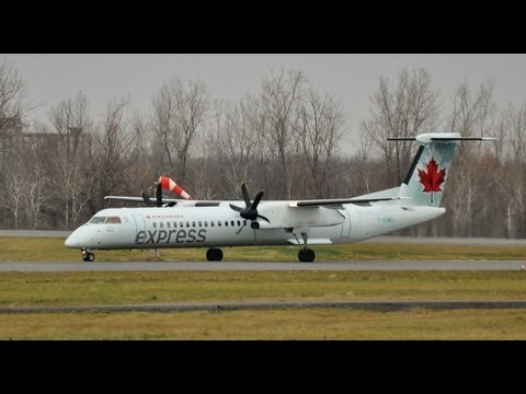 Air Canada Express Dash 8-Q400 at Ottawa