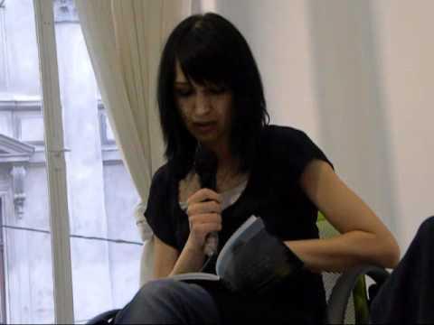 Andra Rotaru - lectura de poezie 22 iunie 2011
