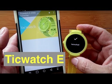Ticwatch E Full Android Wear Smartwatch: Full Review
