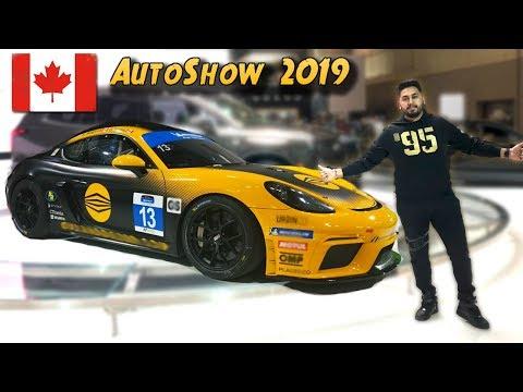 Canada International Auto Show 4k | 2019
