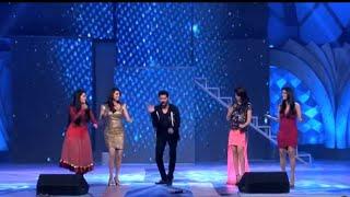 Prabhu Deva dance with top 4 heroines...Kajal Charmi Genelia Raima sen