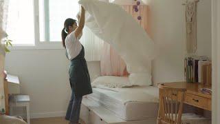 [SUB] 아이방, 침실 정리 정돈하고 청소하는 일상 …