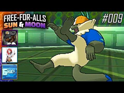 Pokémon Sun & Moon FFAs #009 Feat. PKSparkxx, CuddleofDeath & 6fthax!